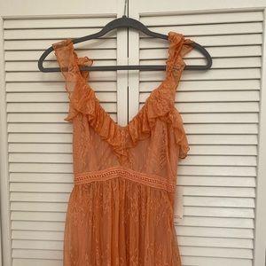 Beautiful all lace maxi dress